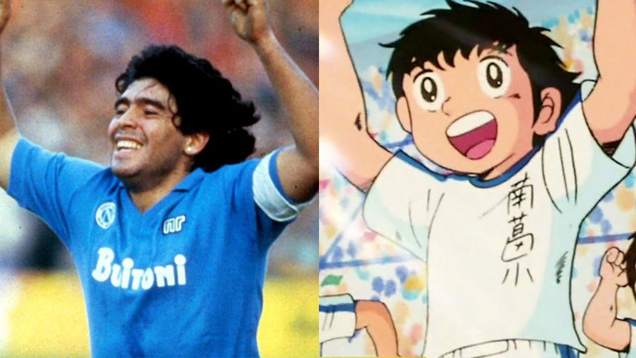 Holly come Maradona: la rivelazione dell'autore di Captain Tsubasa