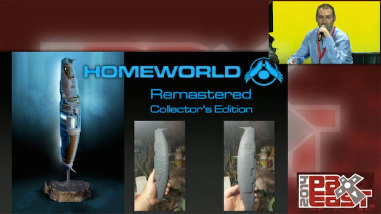 Homeworld Remastered: un video dal PAX Australia