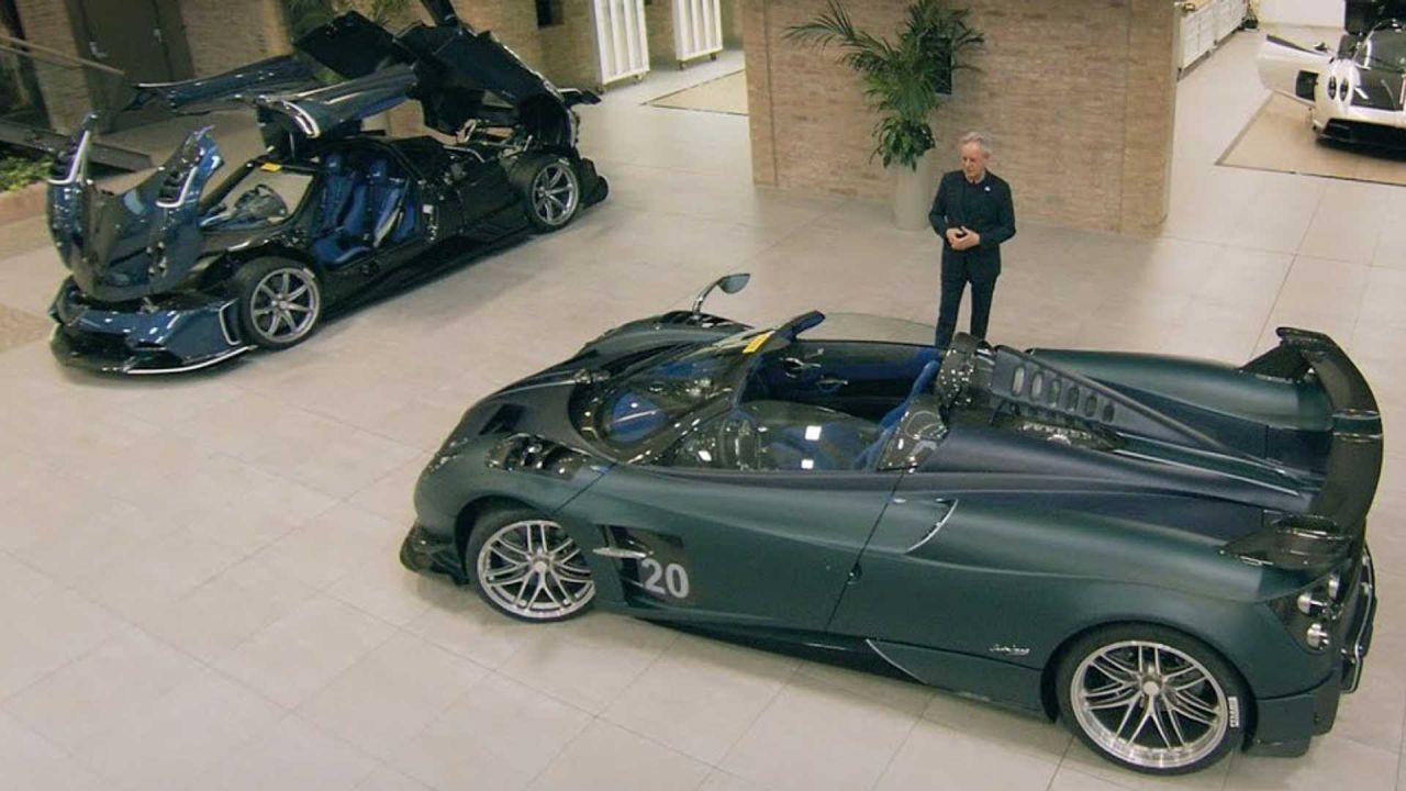 Horacio Pagani è sicuro:'per produrre le nostre auto dobbiamo stare insieme'