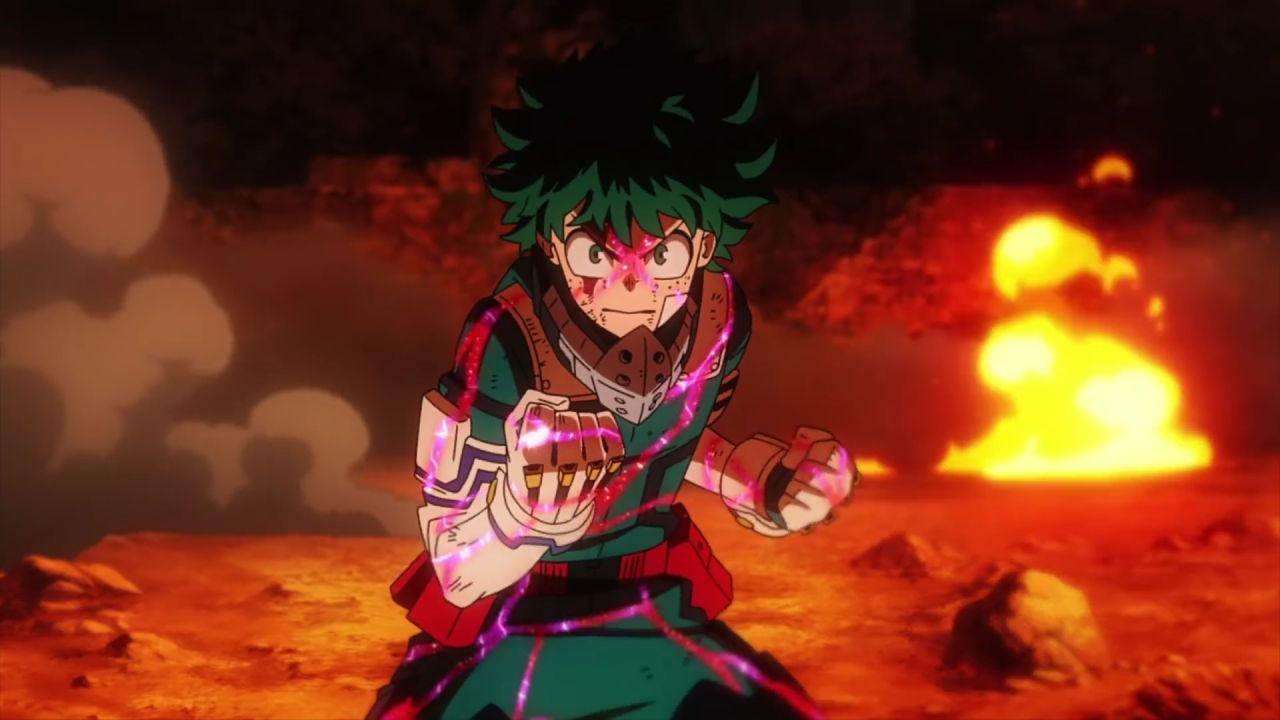 Horikoshi svela il significato del finale di My Hero Academia: Heroes Rising e della serie