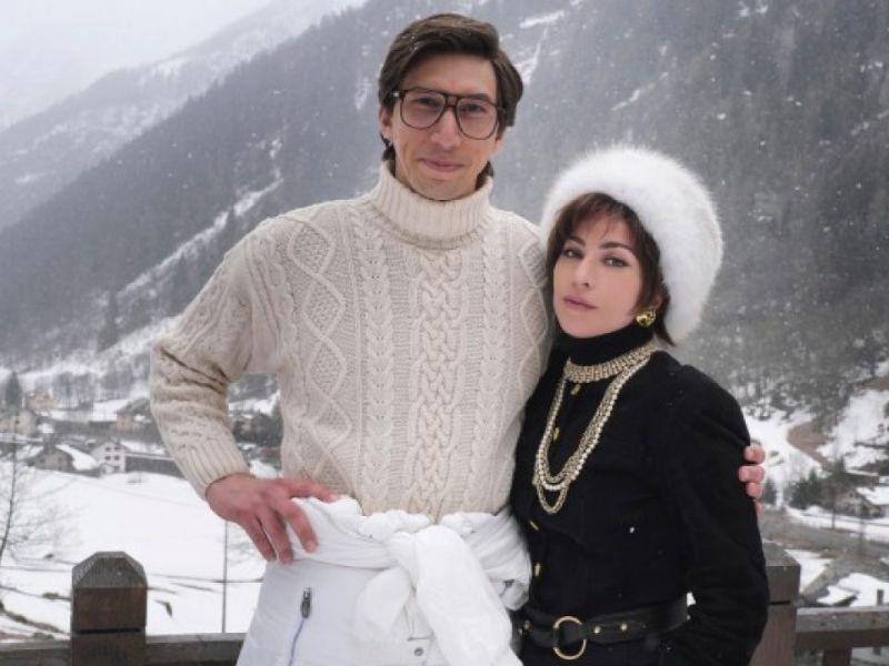 House of Gucci, guardate il quasi nudo di Lady Gaga sul set del Lago di Como!