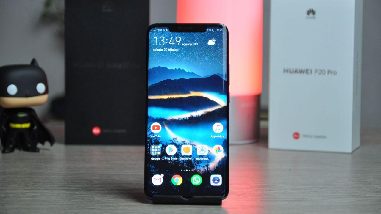 Huawei Mate 20 domina la classifica AnTuTu prendendosi i primi tre posti
