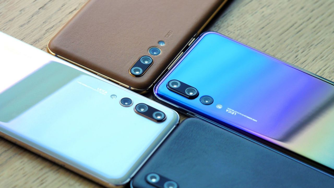 Huawei svela quattro nuove colorazioni per il P20 Pro
