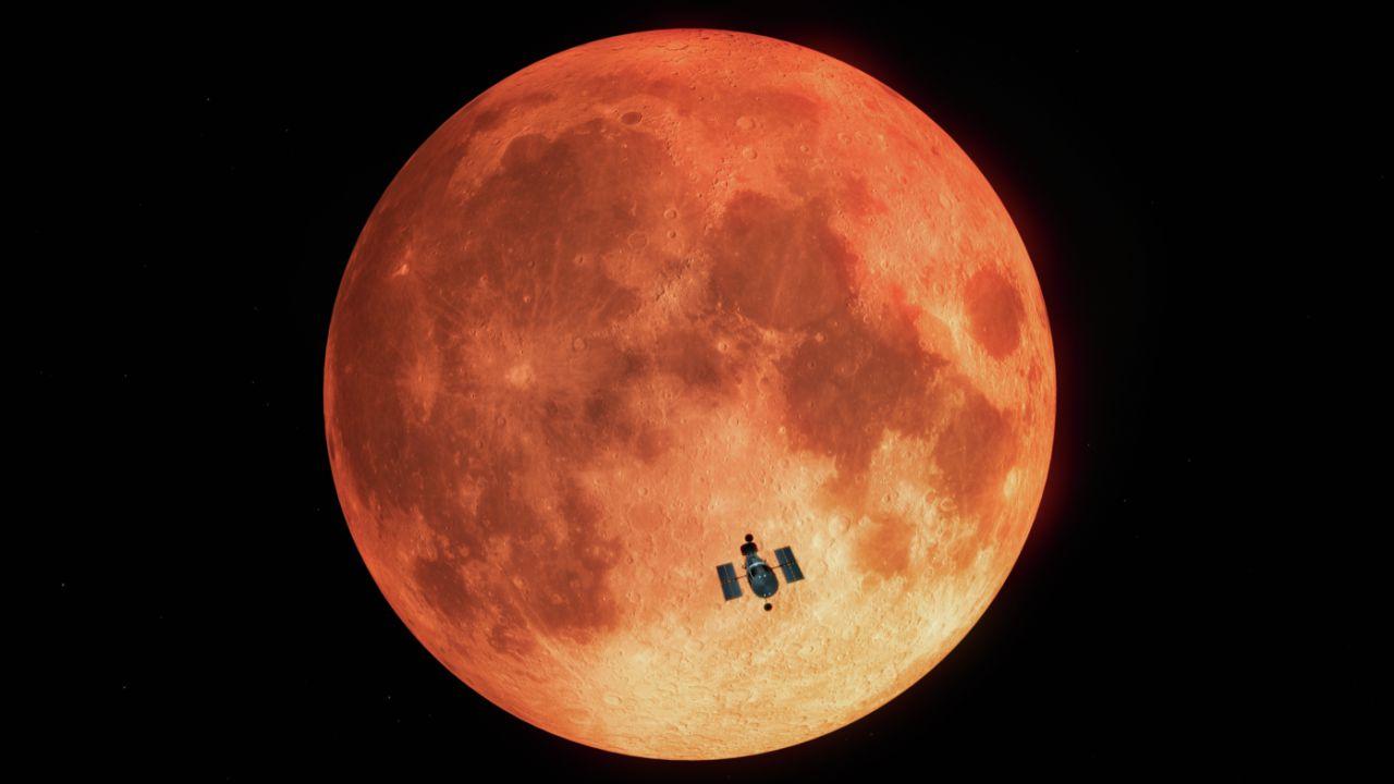 Hubble userà la Luna in eclissi come 'modello' per studiare gli Esopianeti