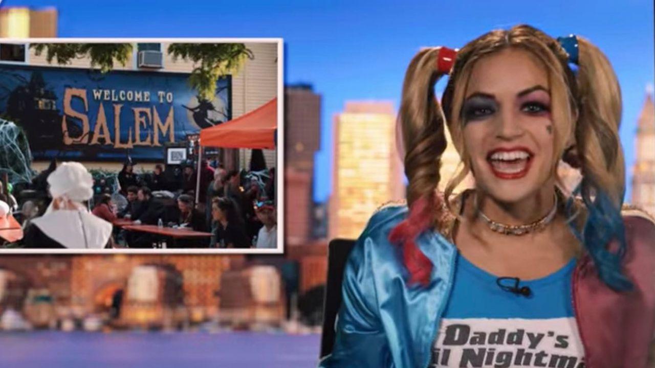 Hubie Halloween, conduttrice di un tg licenziata per un cameo nel film Netflix