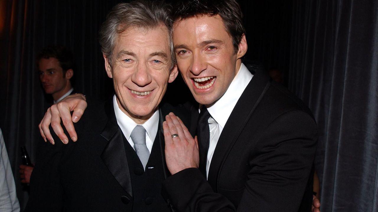 Hugh Jackman e gli auguri per gli 80 anni di Ian McKellen durante lo show
