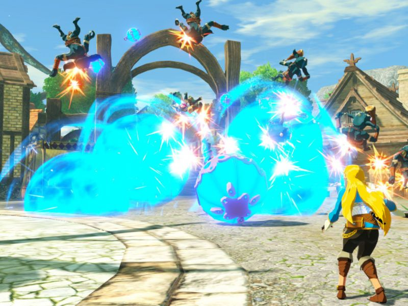 Hyrule Warriors Age of Calamity: how to regain health