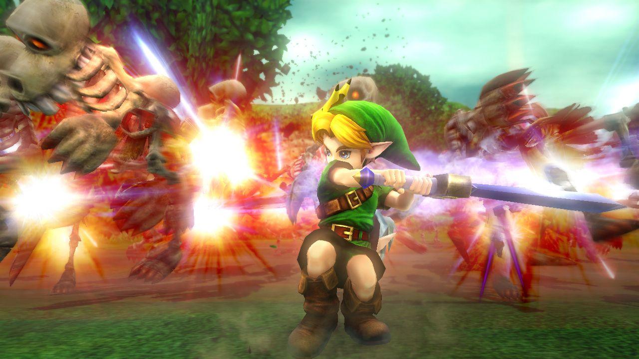 Hyrule Warriors: la Pixel Master Sword sarà disponibile dal giorno di lancio