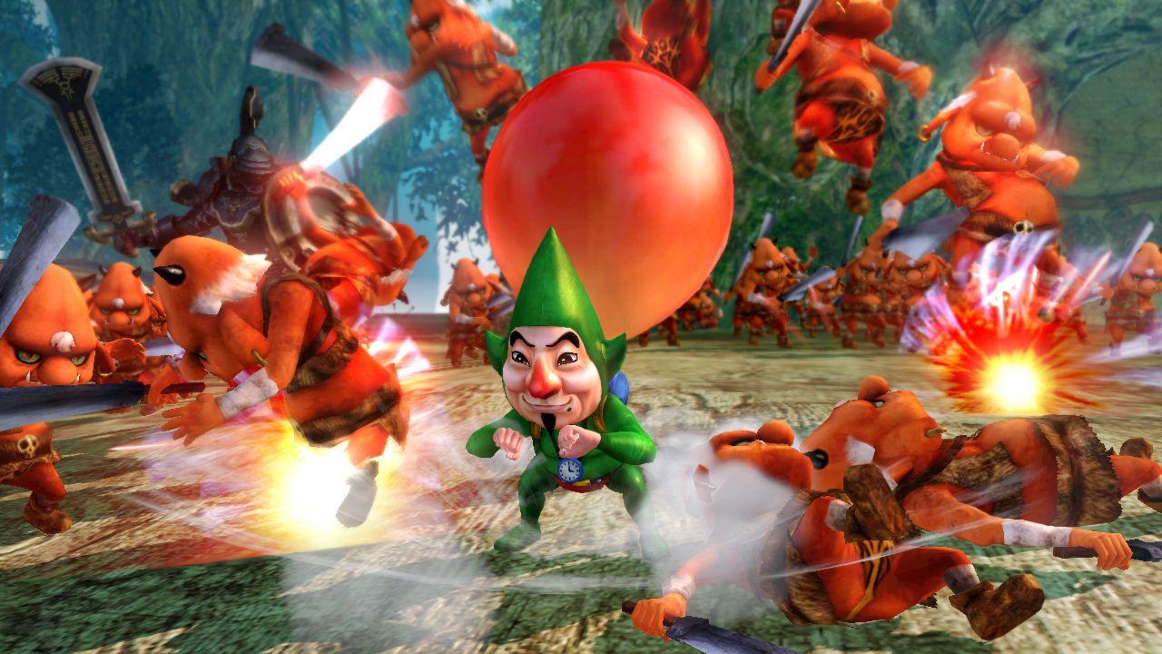Hyrule Warriors: venduto solo il 57 percento del distribuito in Giappone