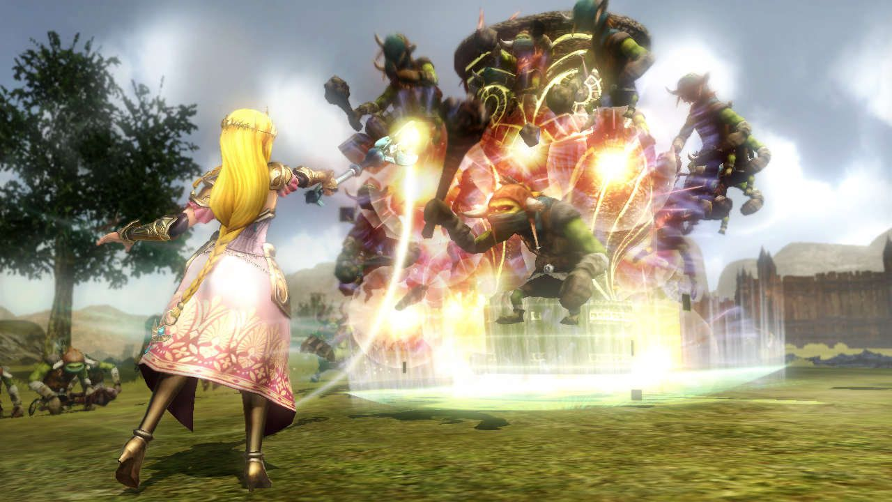 Hyrule Warriors: la versione digitale pesa 7 GB