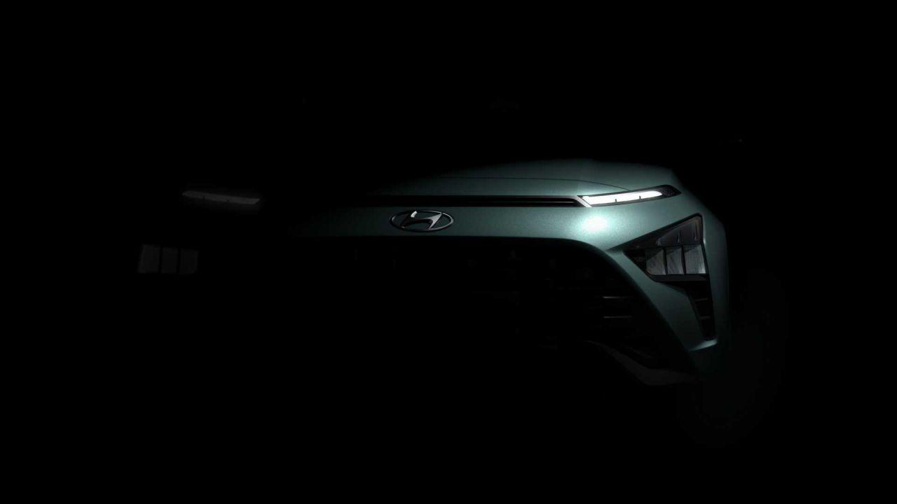Hyundai Bayon: il nuovo crossover mostrato nel primo teaser