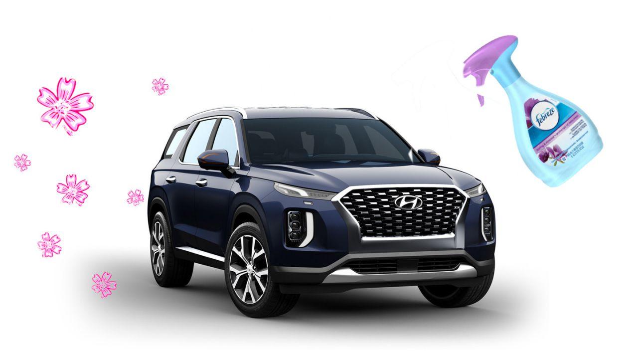 Hyundai ha la soluzione ufficiale per eliminare la puzza del Palisade ed è comica