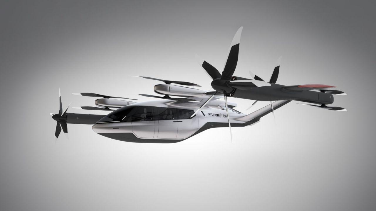 Hyundai e Uber presentano un taxi volante al CES 2020: operativo nel 2023