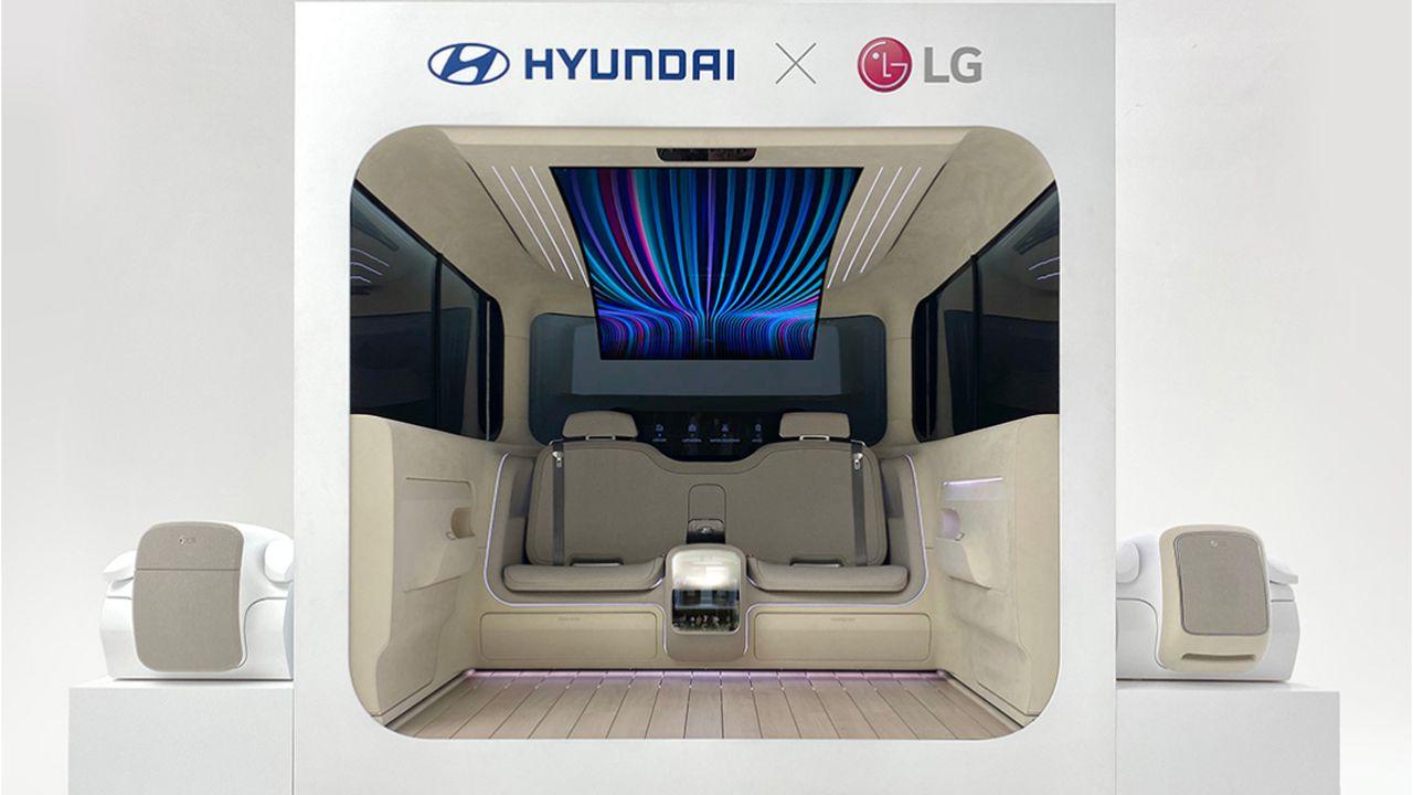 Hyundai vuole trasformare l'abitacolo in un microappartamento