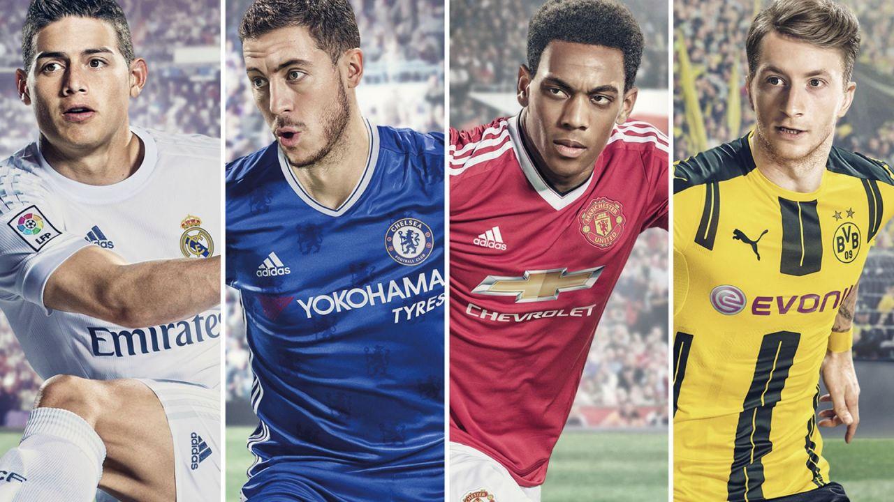 I 50 calciatori più forti di FIFA 17