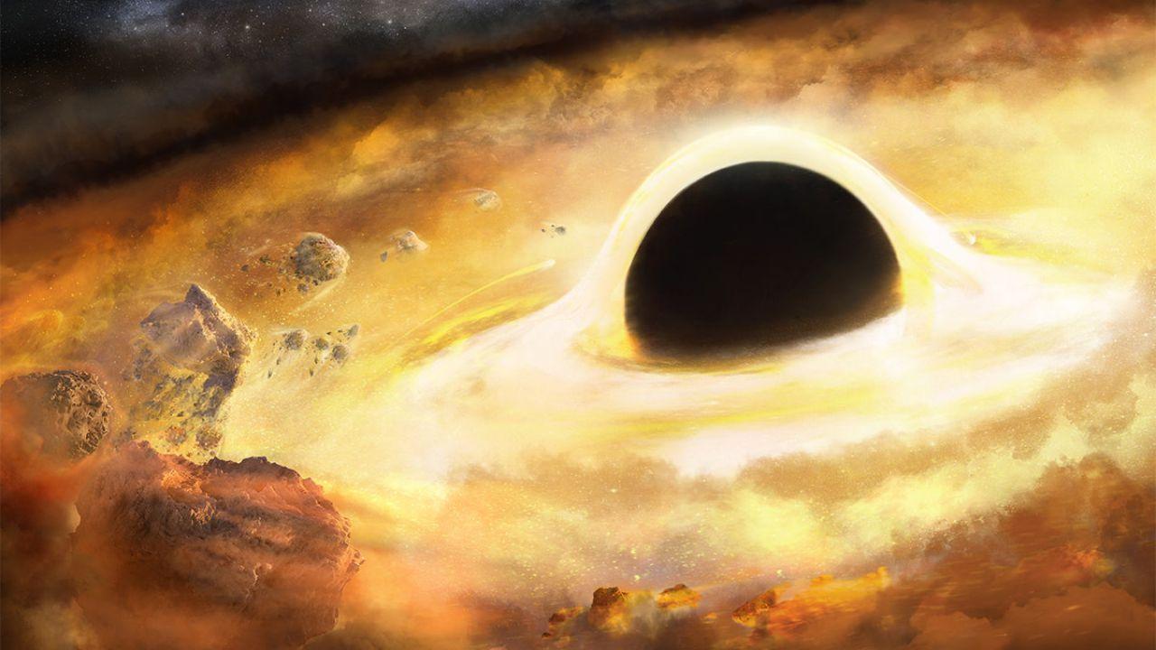 I buchi neri supermassicci non influenzerebbero la formazione delle stelle