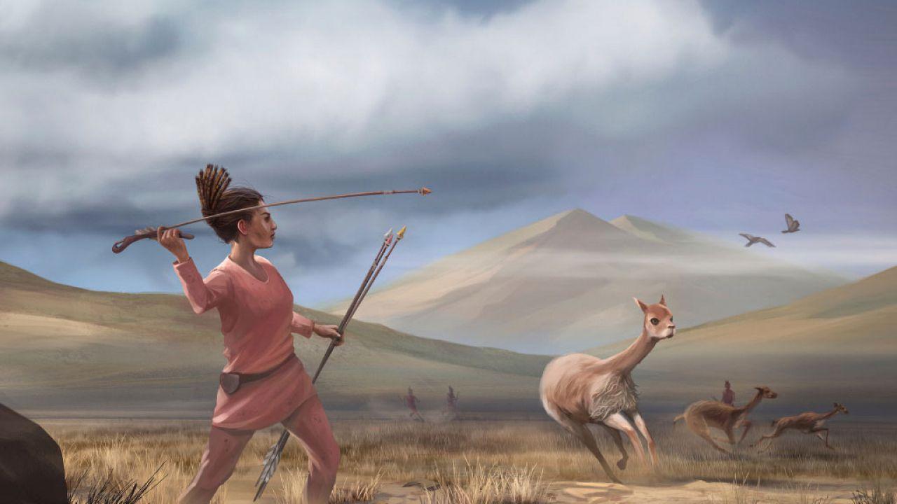 I cacciatori nella preistorica America del Sud non erano tutti uomini
