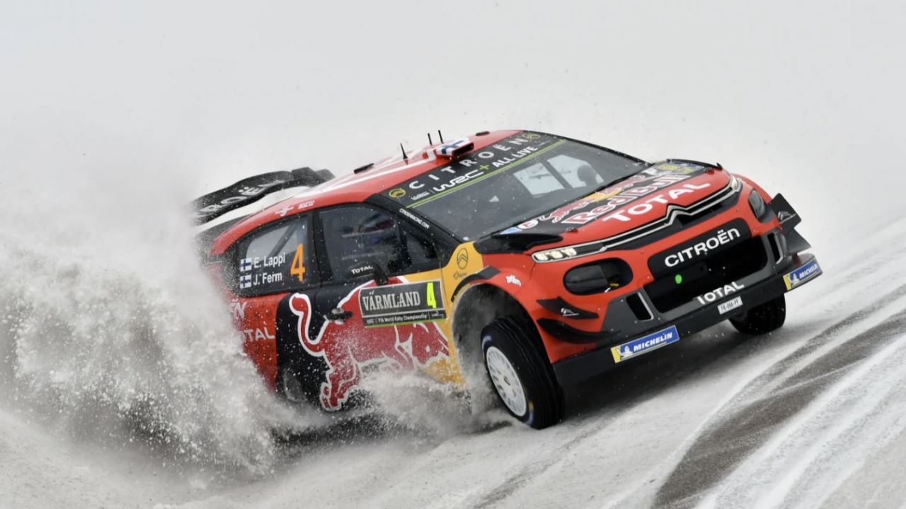 I cambiamenti climatici rischiano di uccidere per sempre il Rally di Svezia