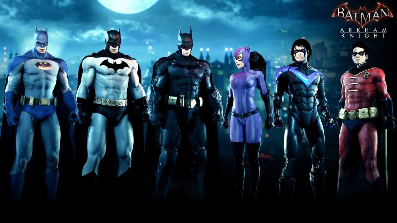 I costumi classici di Batman Arkham Knight si presentano in queste immagini