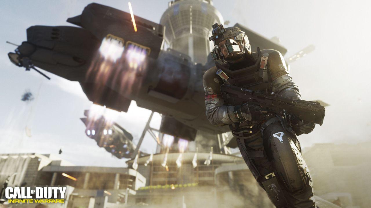 I DLC di Call of Duty Infinite Warfare arriveranno su PS4 con 30 giorni d'anticipo