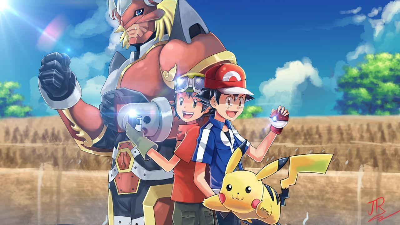 I più famosi Digimon sbarcano nei giochi Pokémon in questi sprite creati da un fan