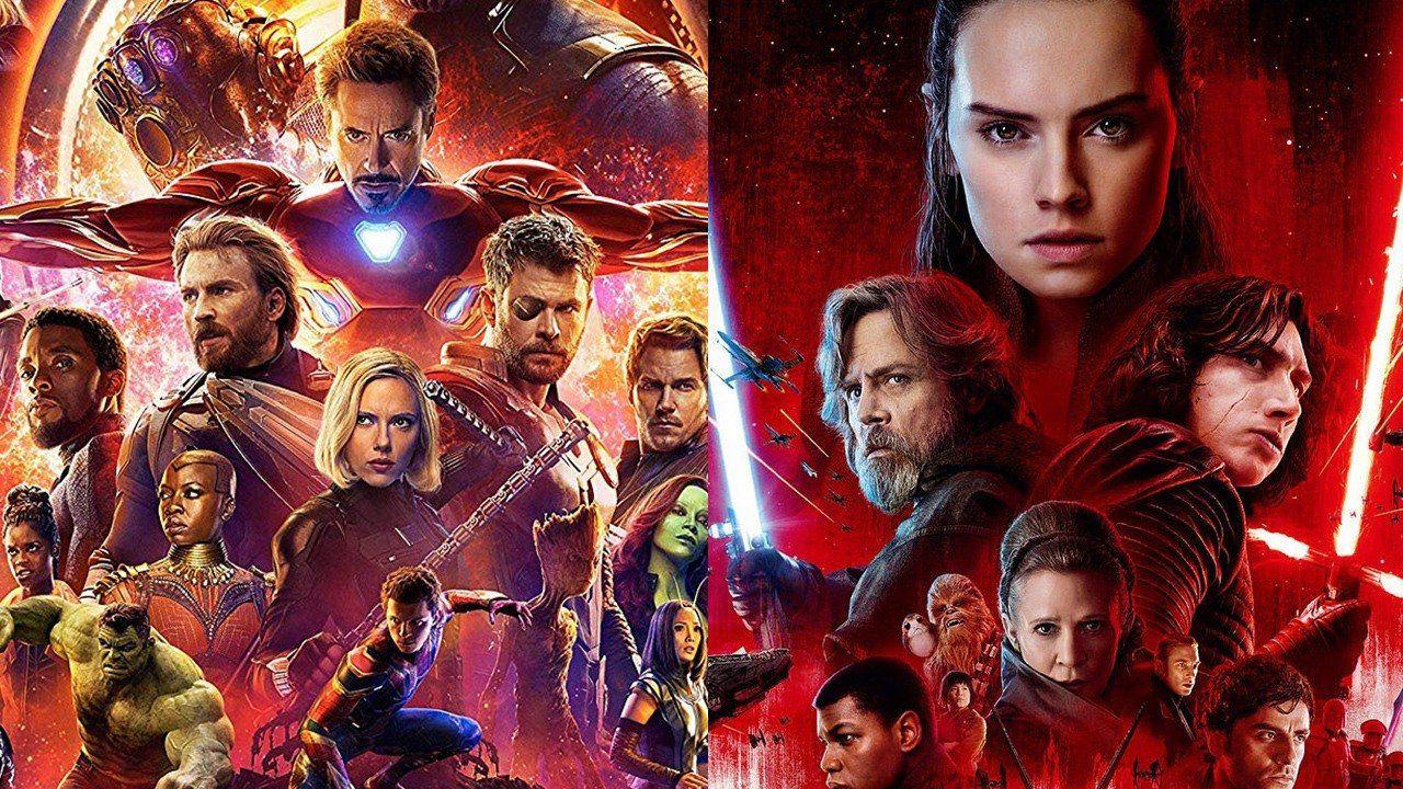 I film Marvel e Star Wars dominano la classifica dei biglietti venduti nel decennio