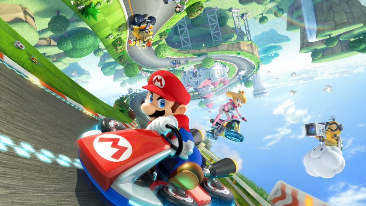 I giocatori inglesi amano Mario Kart 8