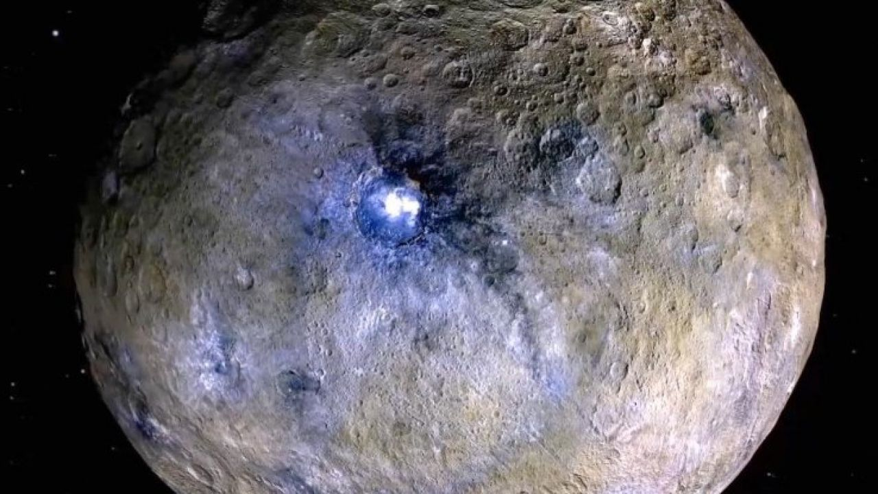 I misteriosi punti luminosi di Cerere indicano un oceano sotterraneo segreto