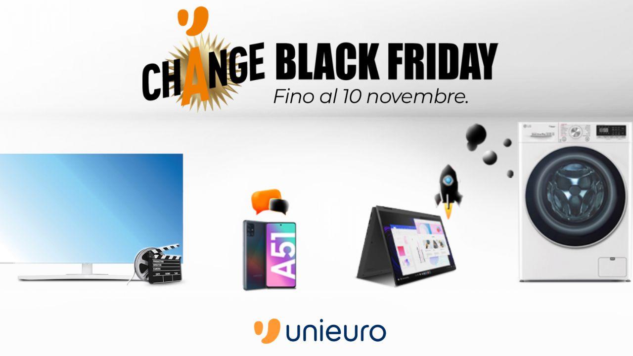 I monopattini elettrici in offerta con il Change Black Friday di Unieuro