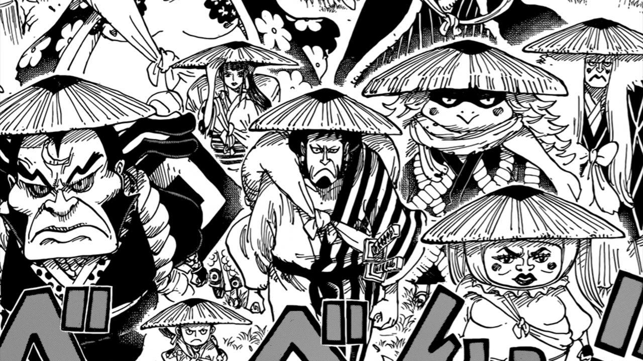I Nove Foderi Rossi salutano il loro shogun: ONE PIECE racconta il salvataggio in extremis