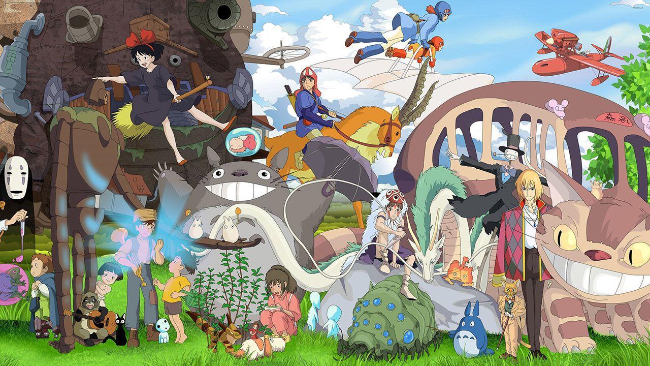 I personaggi più famosi dello Studio Ghibli si fondono con lo stile di Animal Crossing