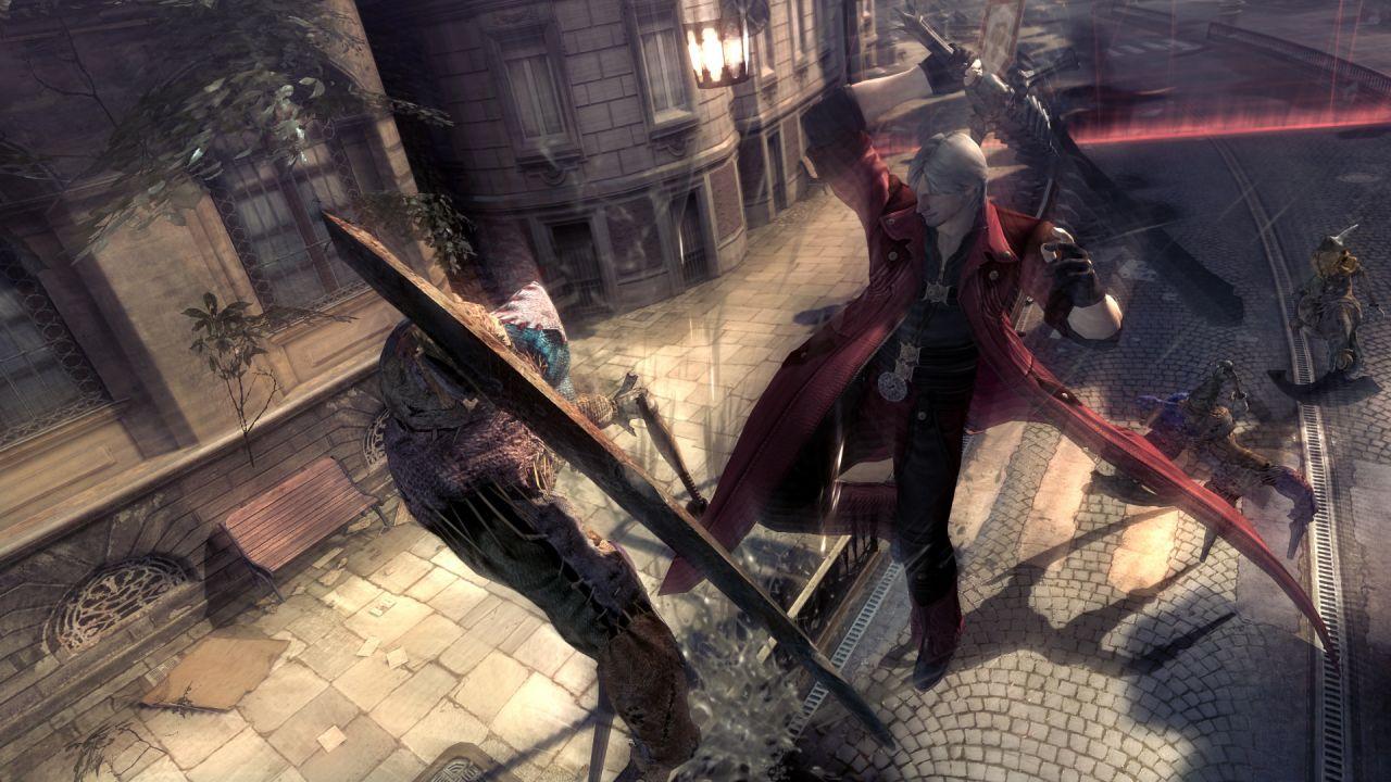 I personaggi giocabili di Devil May Cry 4 Special Edition si mostrano in nuovi screenshot