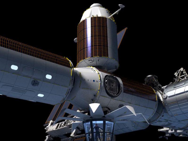 I piani per l'apertura di un 'hotel spaziale' attaccato all'ISS continuano