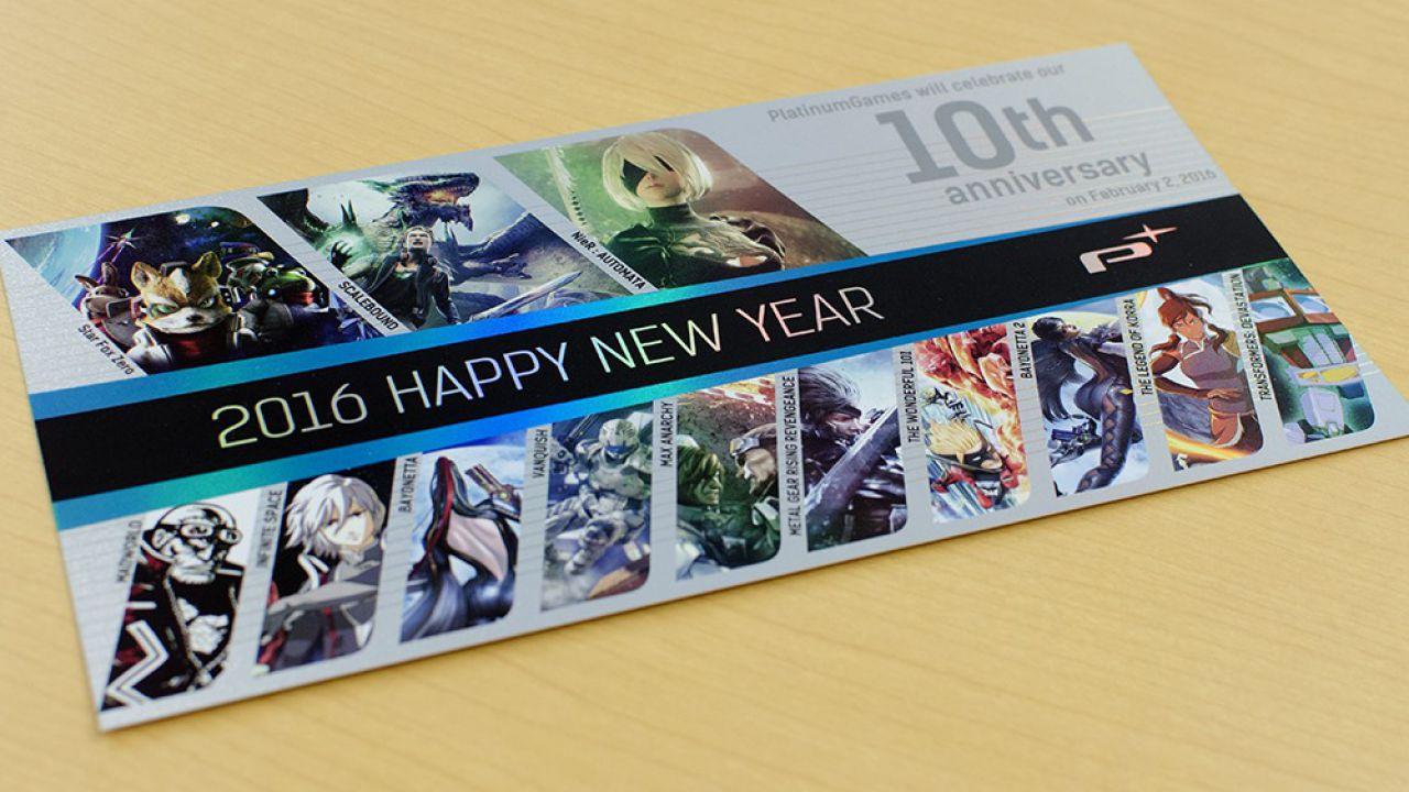 I principali sviluppatori giapponesi augurano buon anno con una serie di cartoline