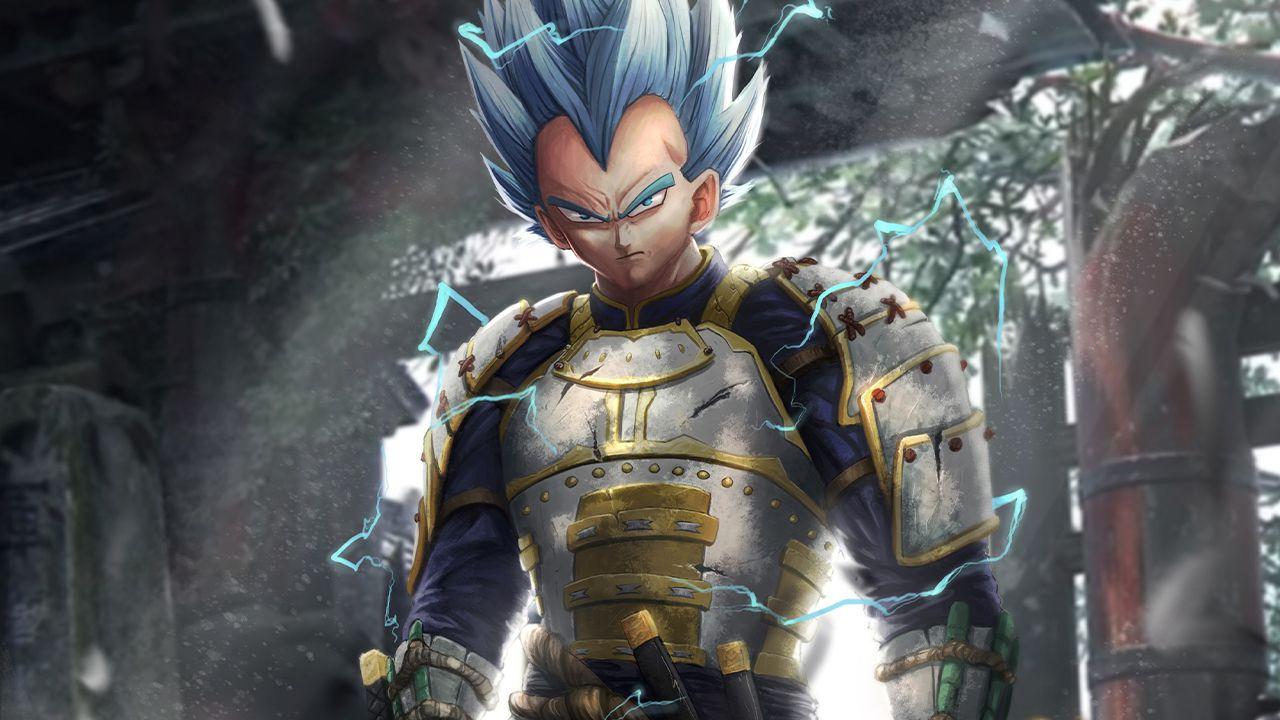 I protagonisti di Dragon Ball Super diventano samurai: le belle creazioni di Caspersz