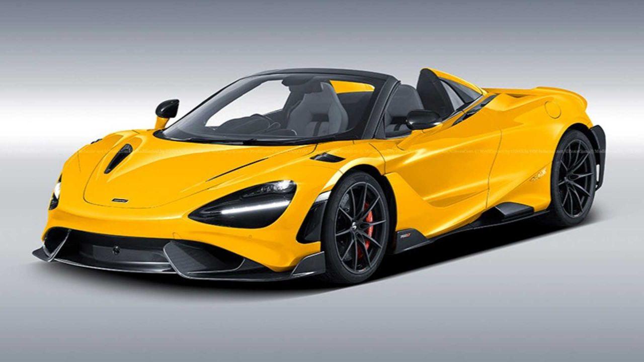 I render di questa McLaren 765LT Spider prevedono il futuro?