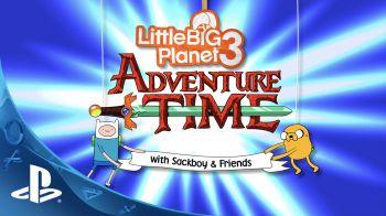 I Sackboy di Little Big Planet 3 affrontano una nuova avventura con il kit Adventure Time