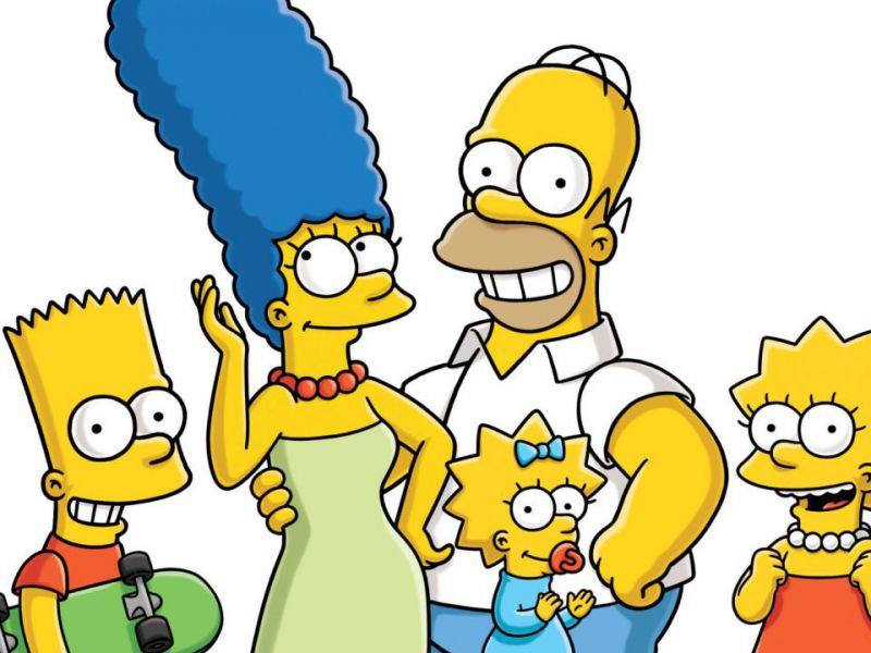 I Simpson dominano la classifica settimanale dei titoli più popolari su Disney+