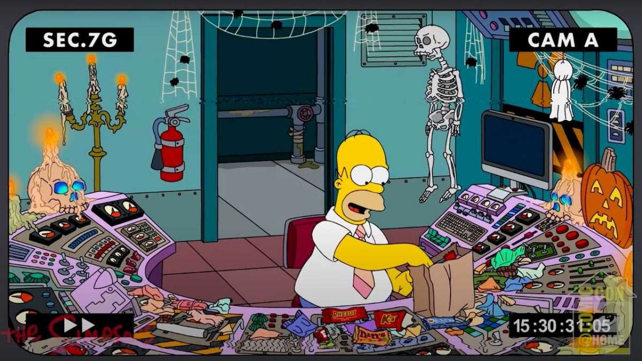I Simpson: l'episodio di Halloween si mostra in un trailer, tra Toy Story e trovate horror