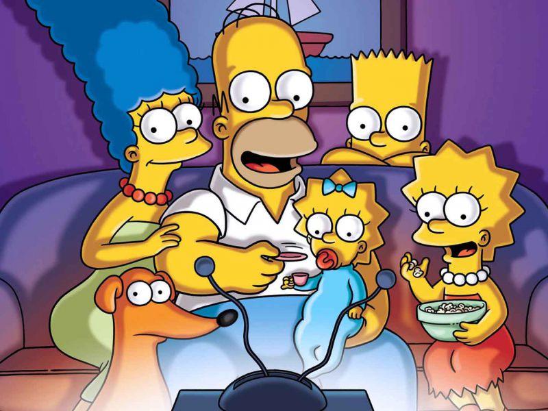 I Simpson: un filmato della serie mostra la fine del 2020