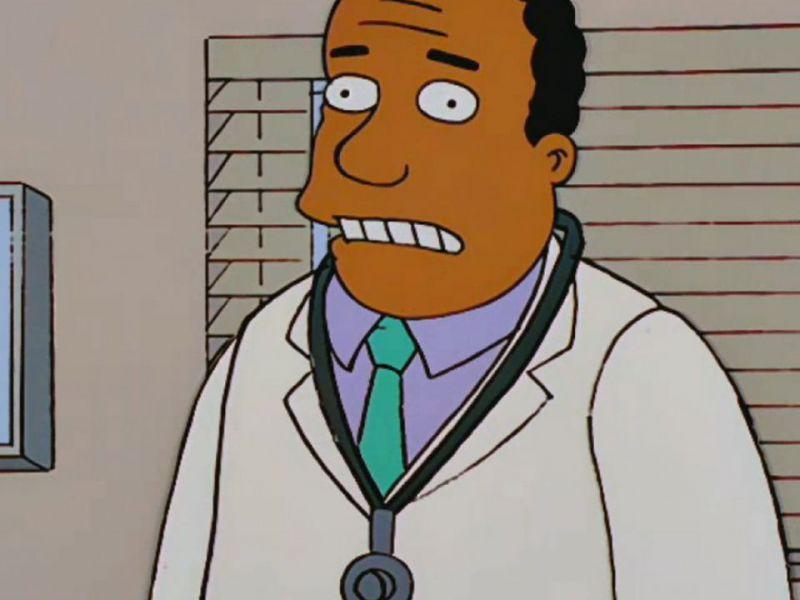 I Simpson, dopo le polemiche anche il Dottor Hibbert cambia voce