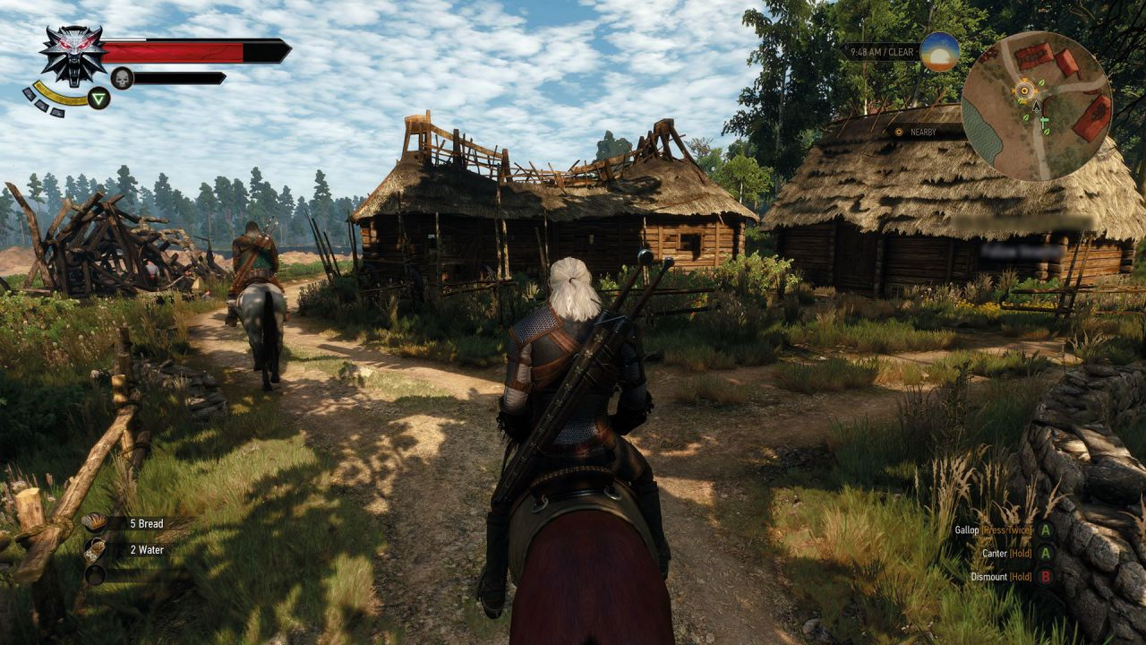 I tempi di caricamento medi di The Witcher 3 Wild Hunt sono stimati in 40 secondi