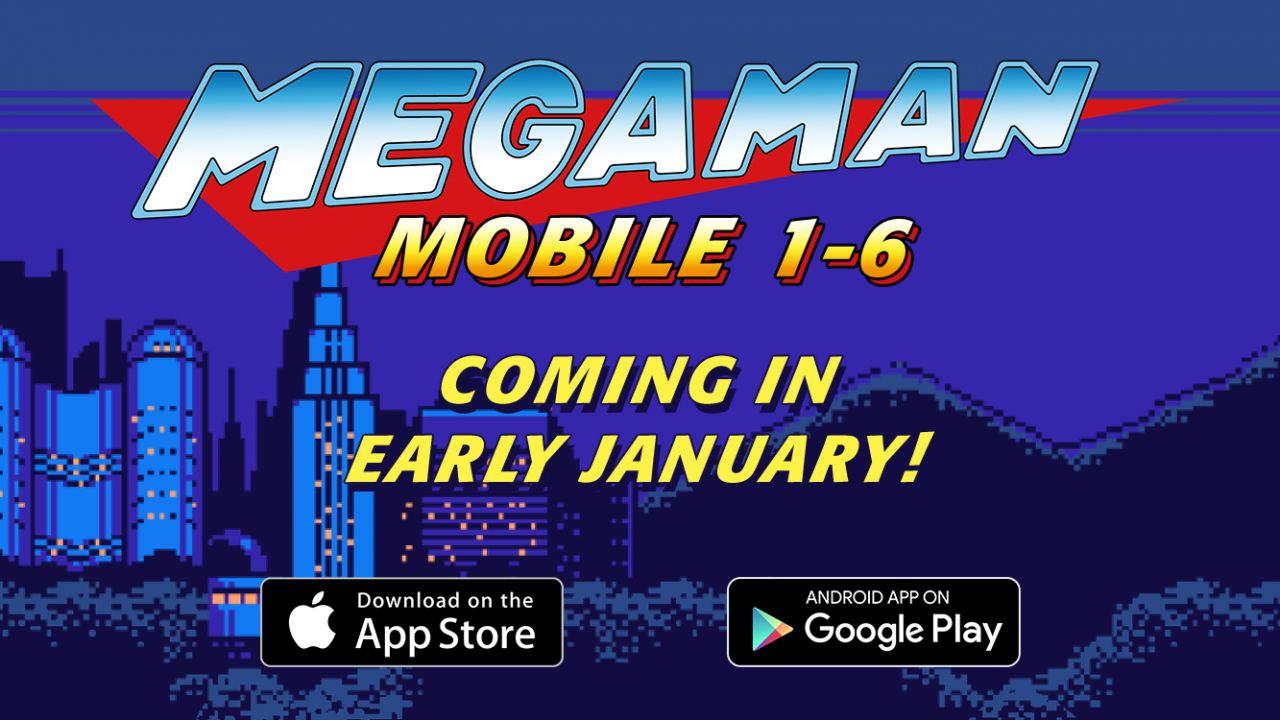I titoli mobile Mega Man a 8bit  arriveranno a gennaio anche in occidente