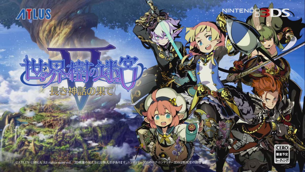 I voti di Famitsu premiano Etrian Odyssey V questa settimana