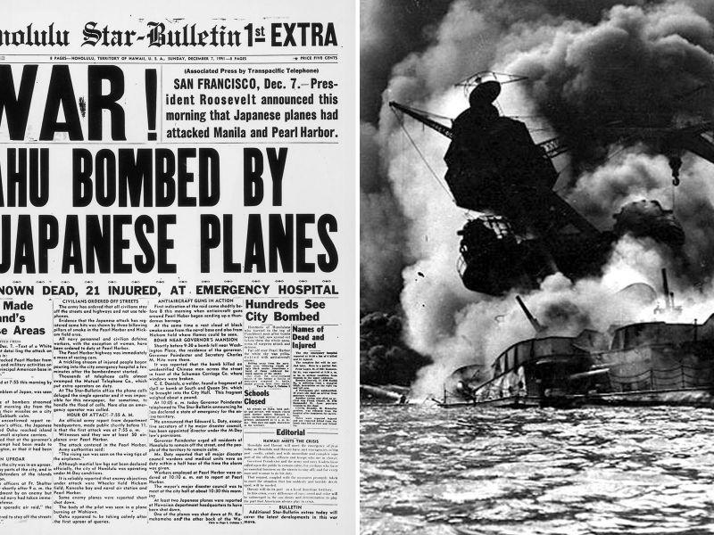 I 'What if' della storia: e se i giapponesi non avessero attaccato Pearl Harbor?