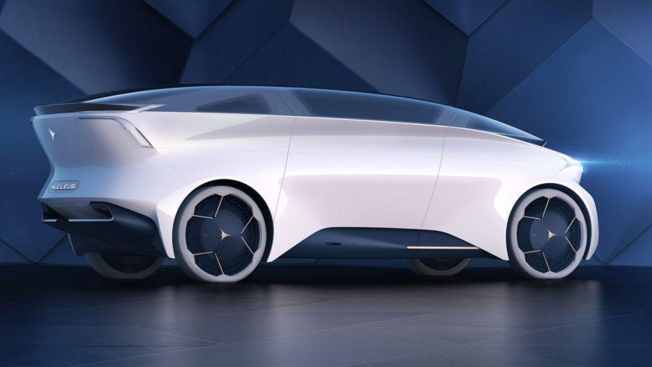 Icona Nucleus, l'auto a guida autonoma che viene dal futuro
