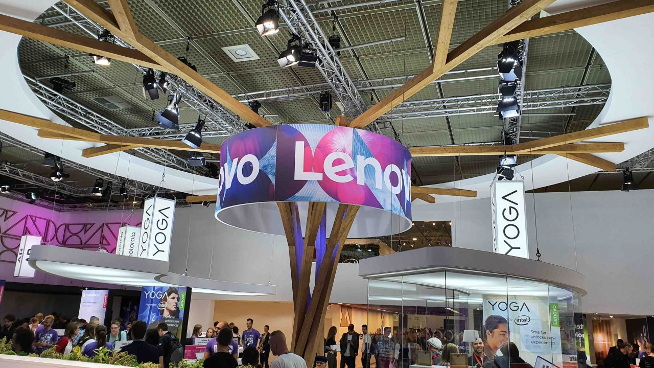IFA 2019: le foto dello stand di Lenovo. In mostra i prodotti presentati