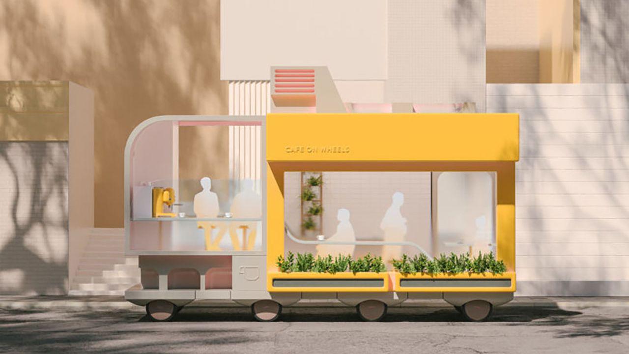 Ikea e la guida autonoma: come l'azienda immagina le case mobili del futuro
