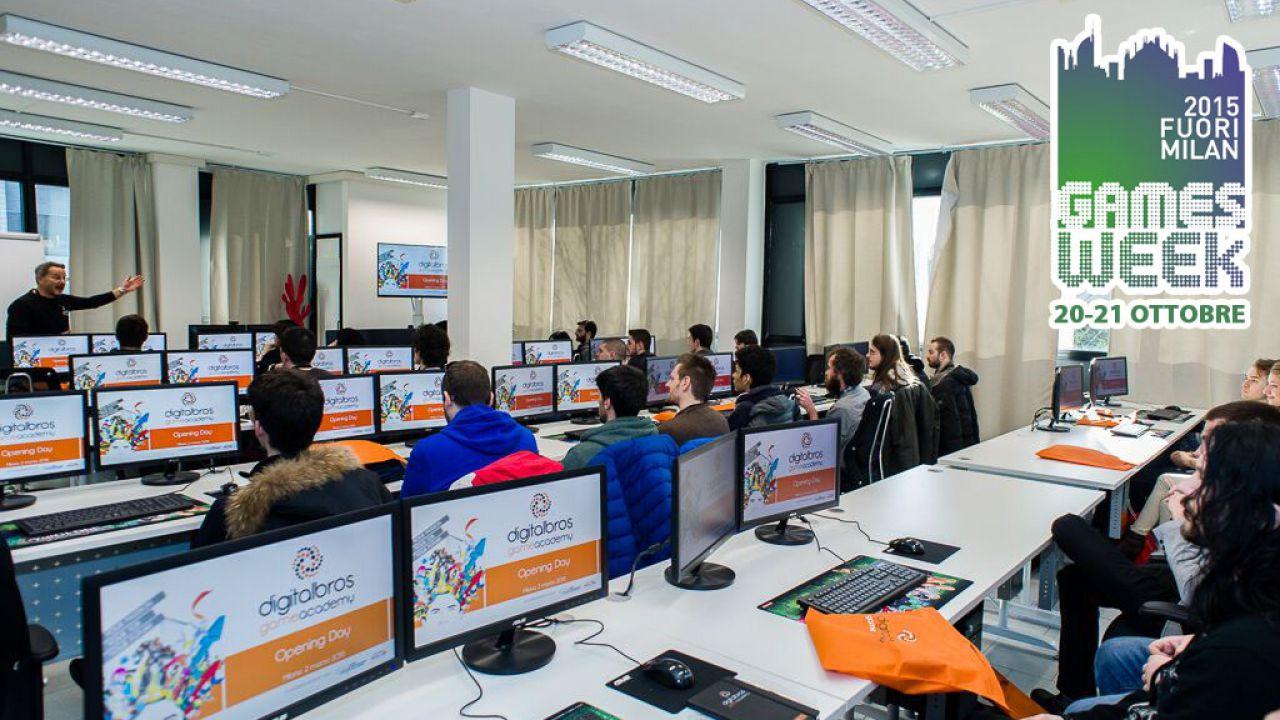 Il 20 e 21 ottobre la Digital Bros Game Academy vi aspetta al Fuori Milan Games Week