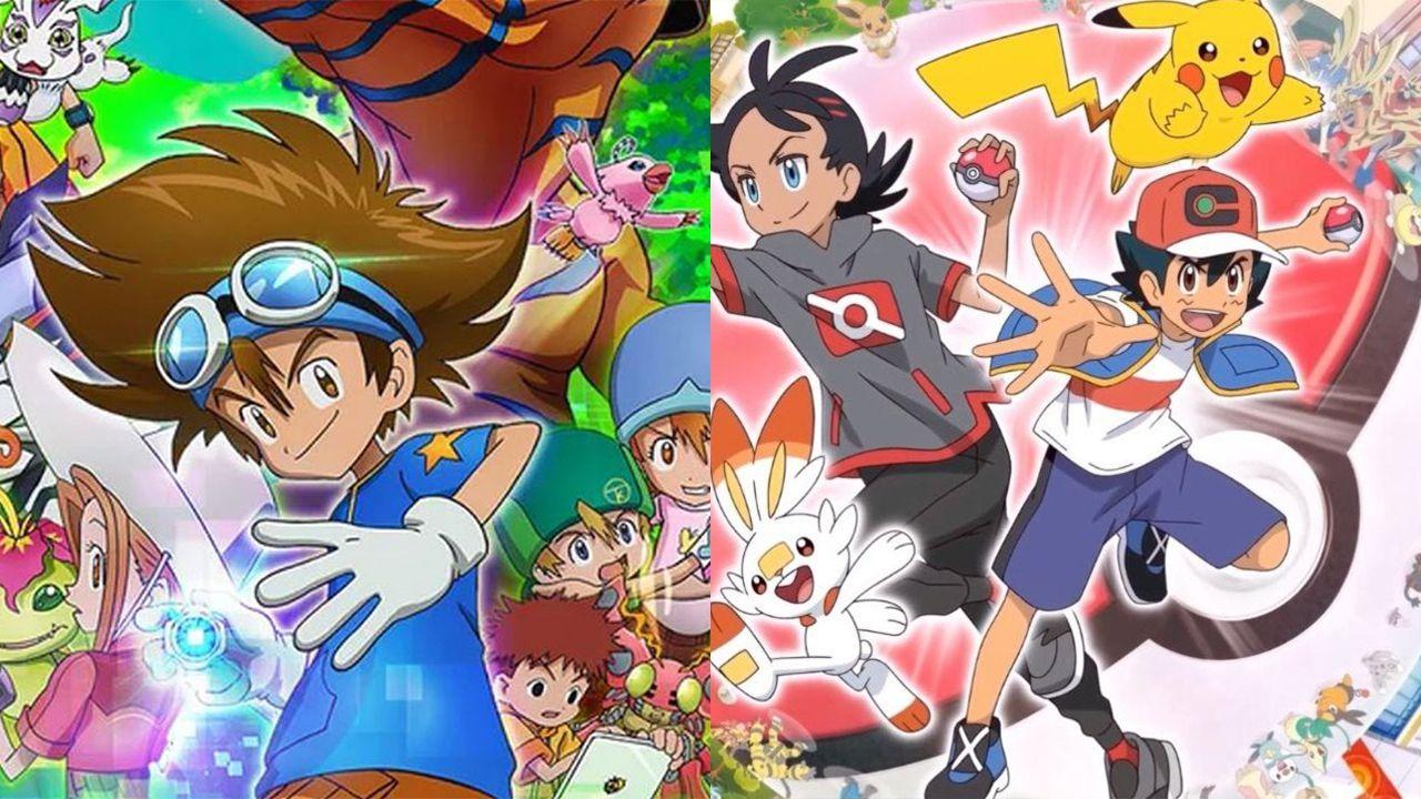 Il 2020 è l'anno della nostalgia: i fan di Digimon e Pokémon celebrano i due anime in rete